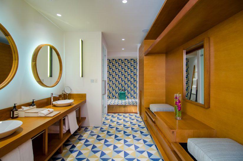 Amilla Fushi Luxury Resort and Residences - Baa Atoll, Maldives - Oceanfront Beach Residence Bathroom