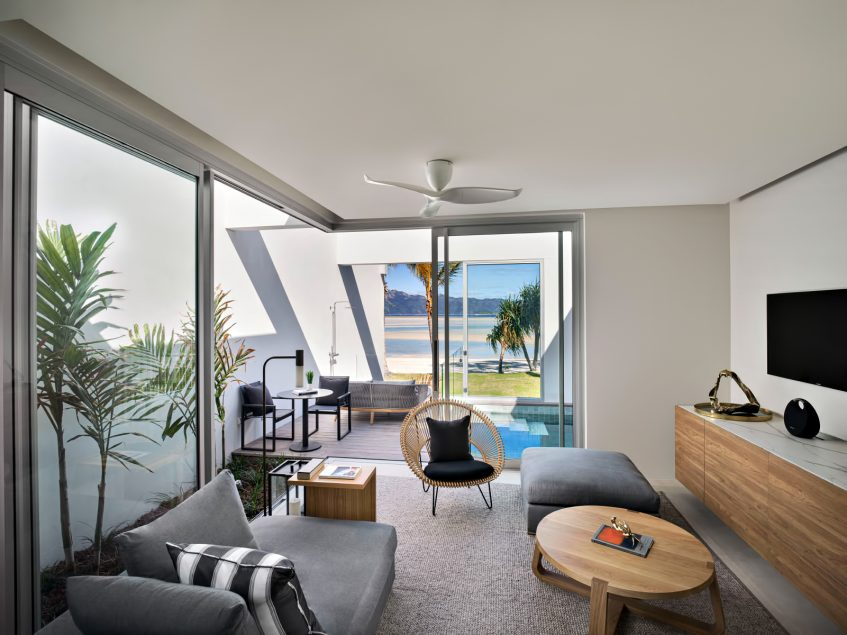 InterContinental Hayman Island Resort - Whitsunday Islands, Australia - Three Bedroom Beach House Lounge Area