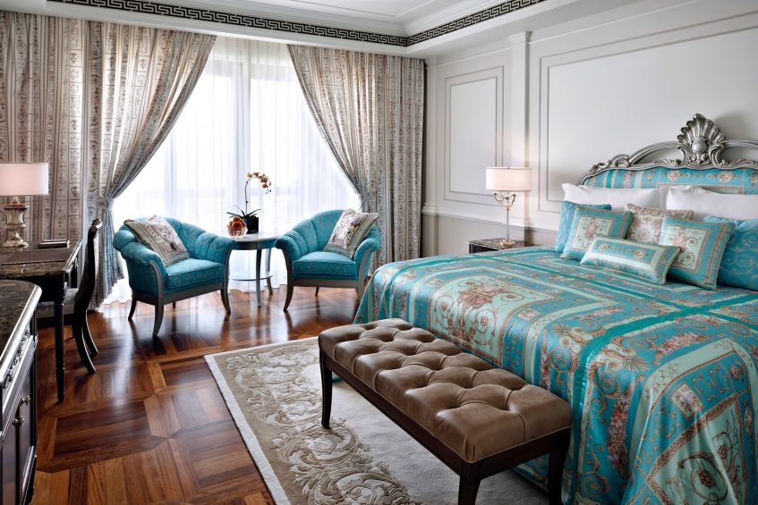 Palazzo Versace Dubai Hotel - Jaddaf Waterfront, Dubai, UAE - Permiere Versace Bedroom