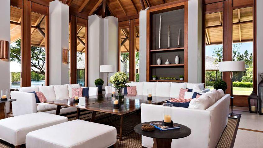 Amanyara Luxury Resort - Providenciales, Turks and Caicos Islands - 6 Bedroom Amanyara Villa Living Room