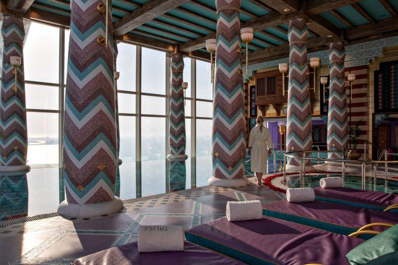 Burj Al Arab Luxury Hotel - Jumeirah St, Dubai, UAE - Talise Spa Pool
