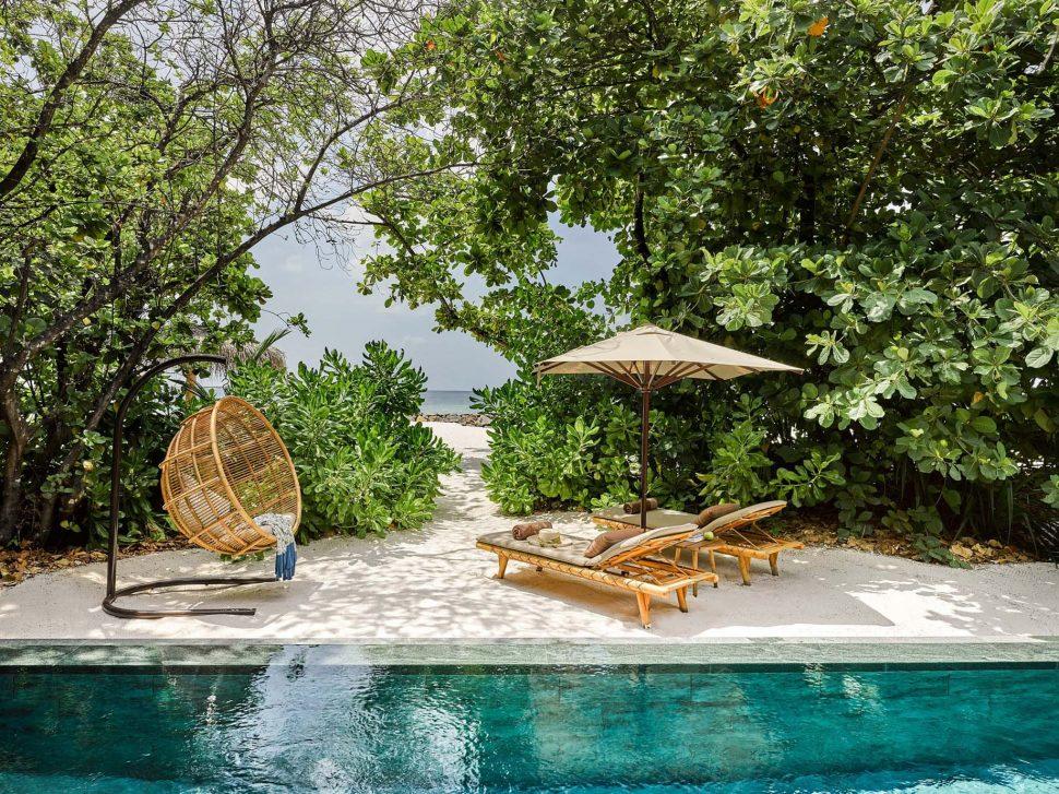 Joali Maldives Luxury Resort - Muravandhoo Island, Maldives - Luxury Villa Beachfront Pool