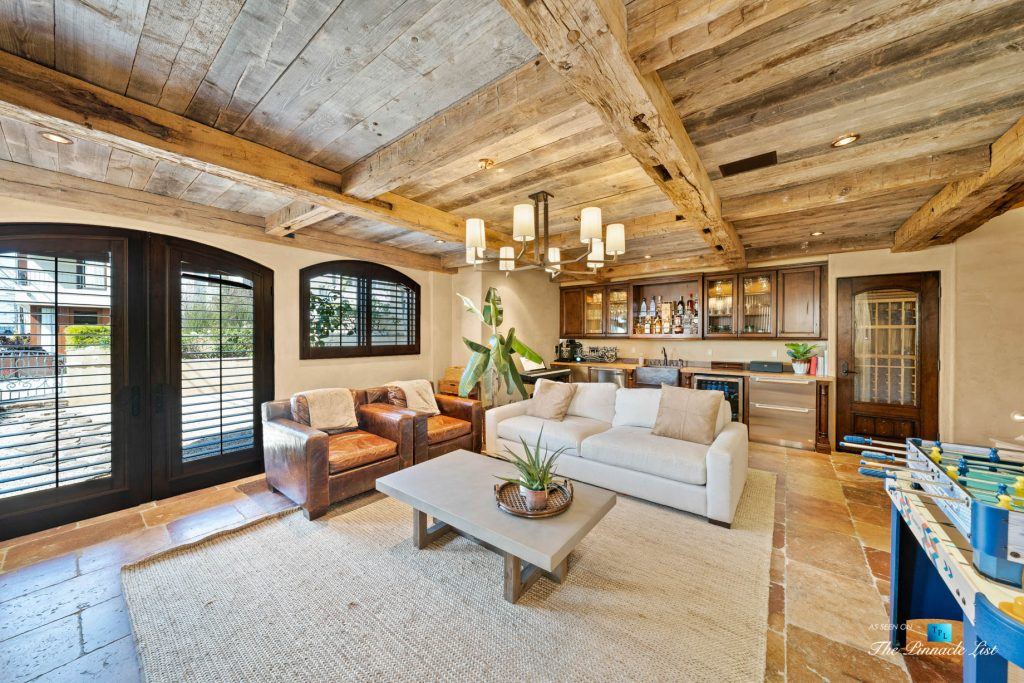 Authentic Luxury Coastal Villa - 216 7th St, Manhattan Beach, CA, USA - Entertainment Room