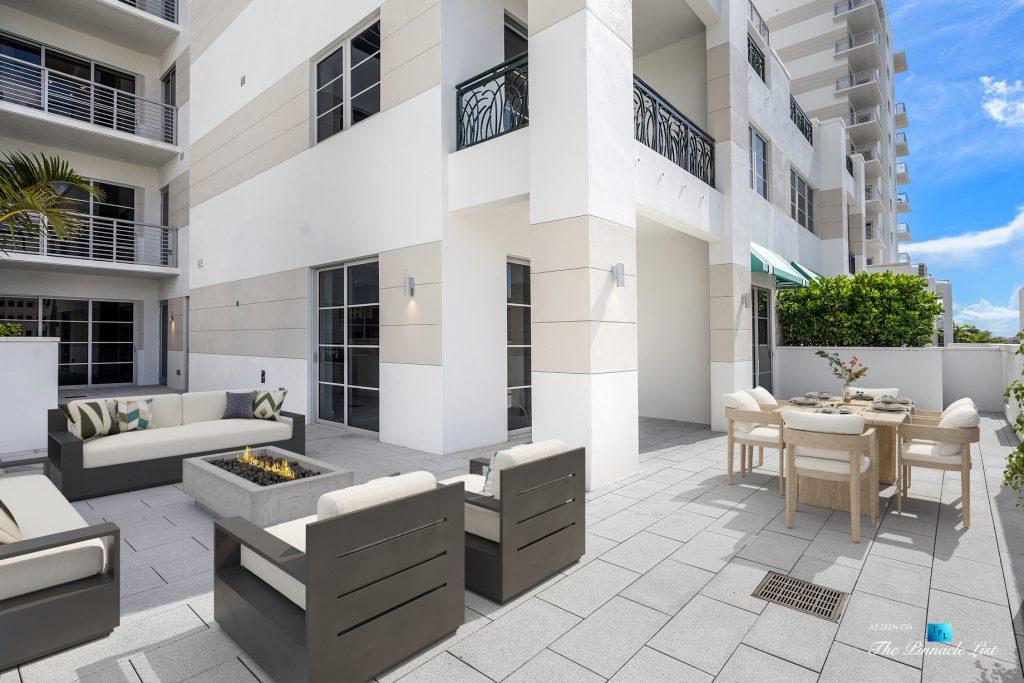 Boca Tower 155 Luxury Condo - Unit 416, 155 E Boca Raton Rd, Boca Raton, FL, USA - Private Outdoor Terrace