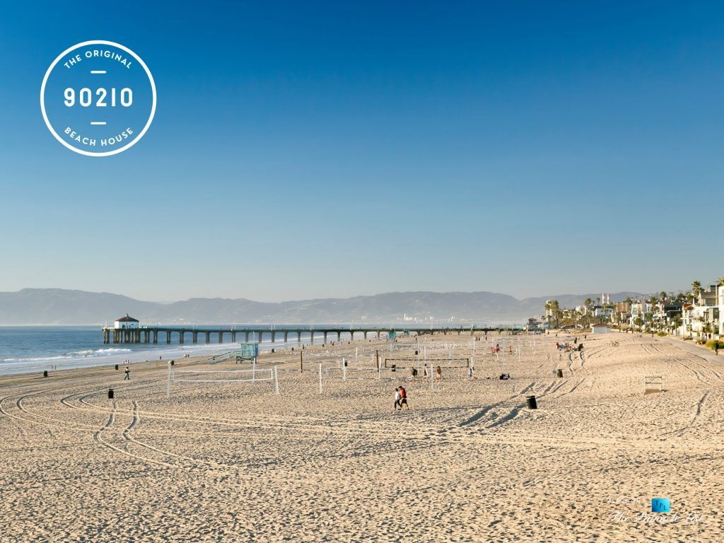 The Original 90210 Beach House - 3500 The Strand, Hermosa Beach, CA, USA - Hermosa Beach Pier