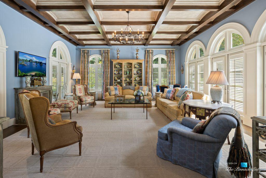 Tuxedo Park Mediterranean Estate - 439 Blackland Rd NW, Atlanta, GA, USA - Family Room