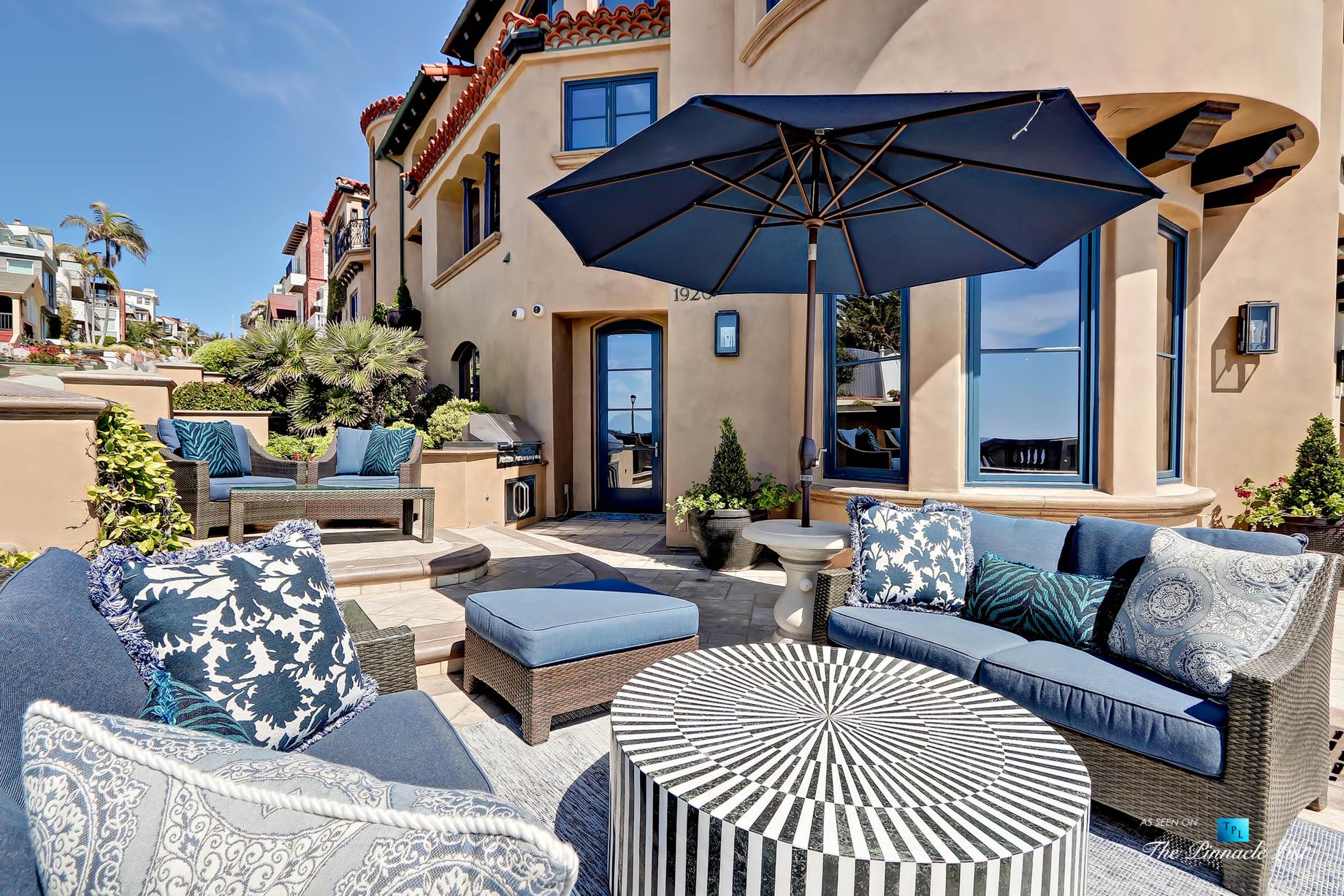 Ultimate California Luxury Living – 1920 The Strand, Manhattan Beach, CA, USA – Beachfront Patio