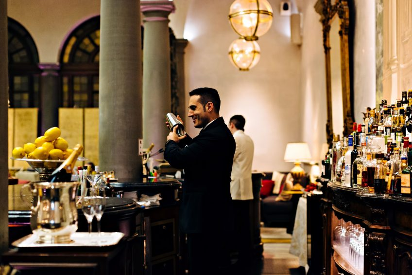 The St. Regis Florence Luxury Hotel - Florence, Italy - Winter Garden Bar
