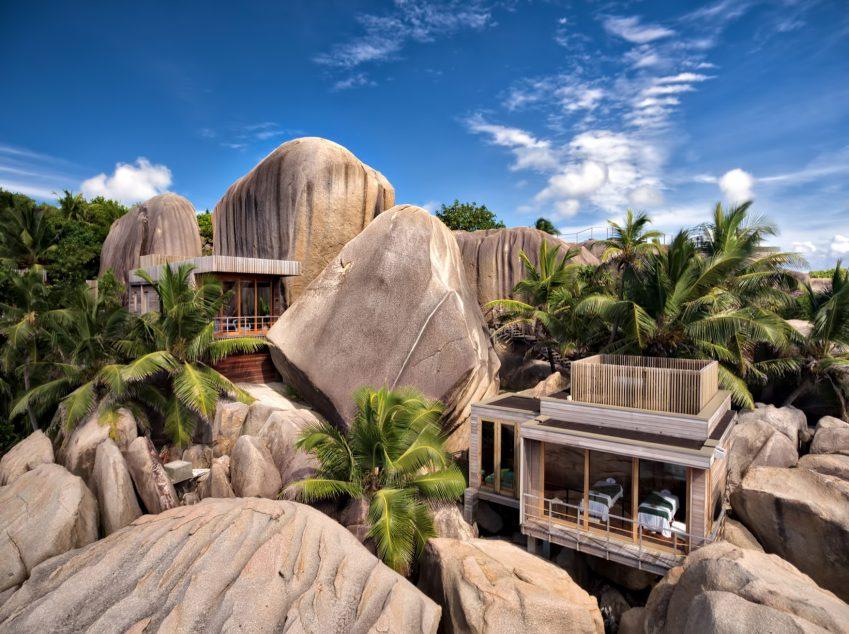 Six Senses Zil Pasyon Luxury Resort - Felicite Island, Seychelles - Spa Villa Exterior View