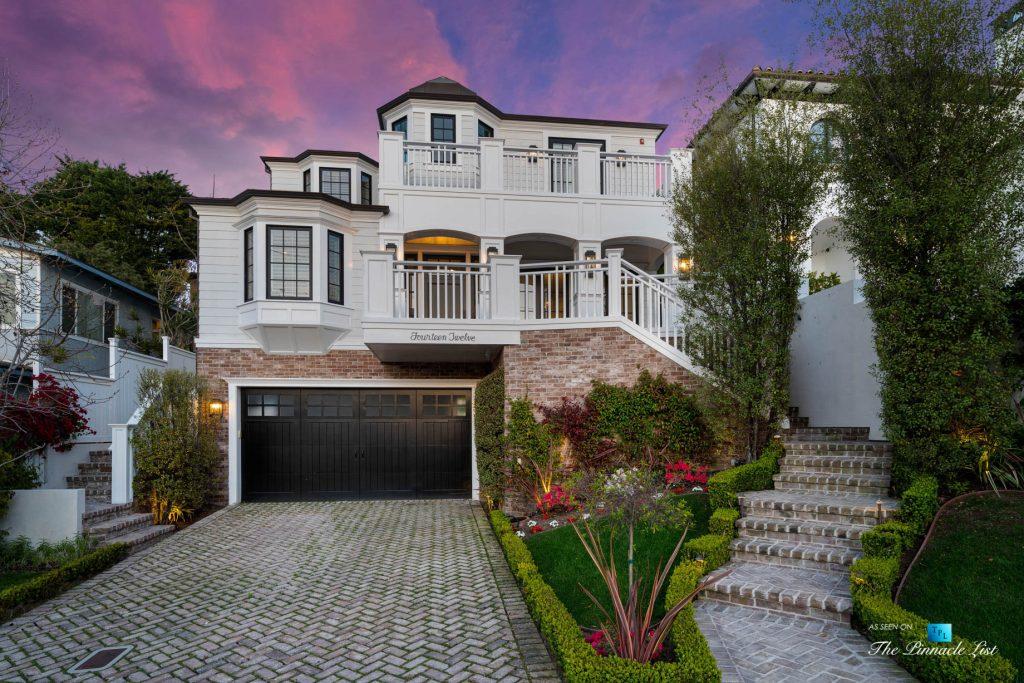 1412 Laurel Ave, Manhattan Beach, CA, USA - Frontyard Twilight