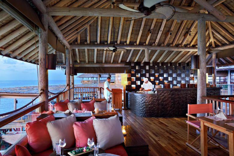 Six Senses Laamu Luxury Resort - Laamu Atoll, Maldives - Zen Restaurant