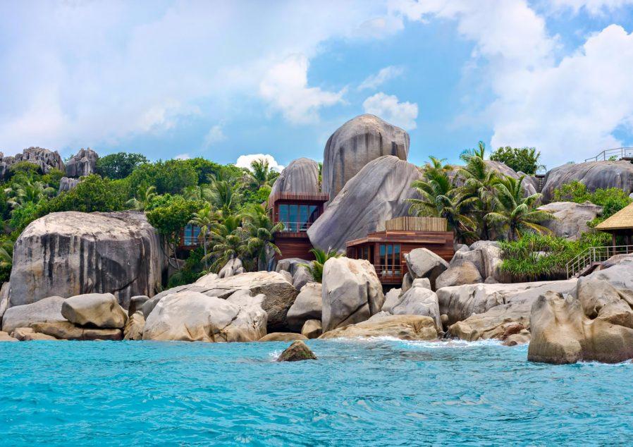 Six Senses Zil Pasyon Luxury Resort - Felicite Island, Seychelles - Spa Exterior