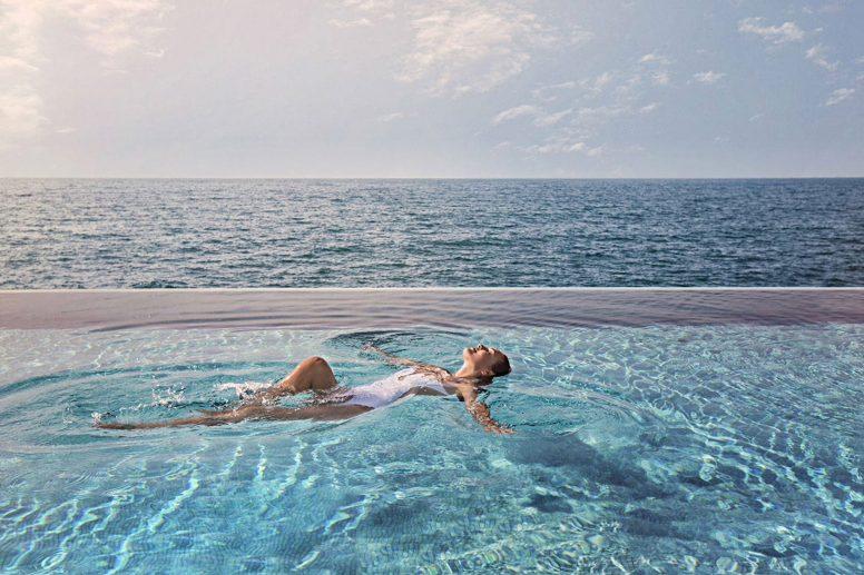 Burj Al Arab Luxury Hotel - Jumeirah St, Dubai, UAE - Burj Al Arab Terrace Infinity Pool Ocean View