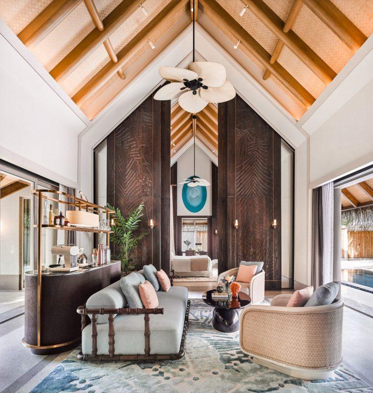 Joali Maldives Luxury Resort - Muravandhoo Island, Maldives - Luxury Villa Master Living Room
