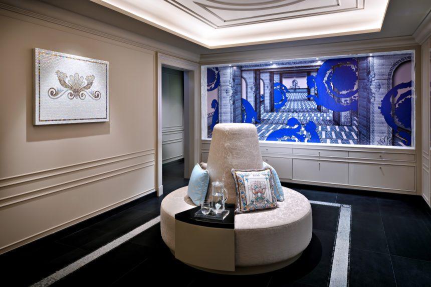 Palazzo Versace Dubai Hotel - Jaddaf Waterfront, Dubai, UAE - The SPA Couch