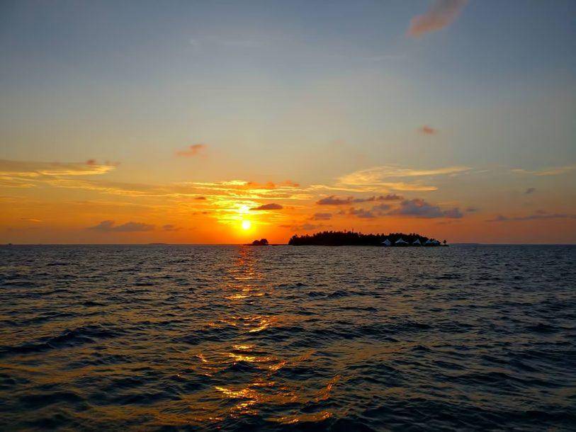 W Maldives Luxury Resort - Fesdu Island, Maldives - Private Island Sunset