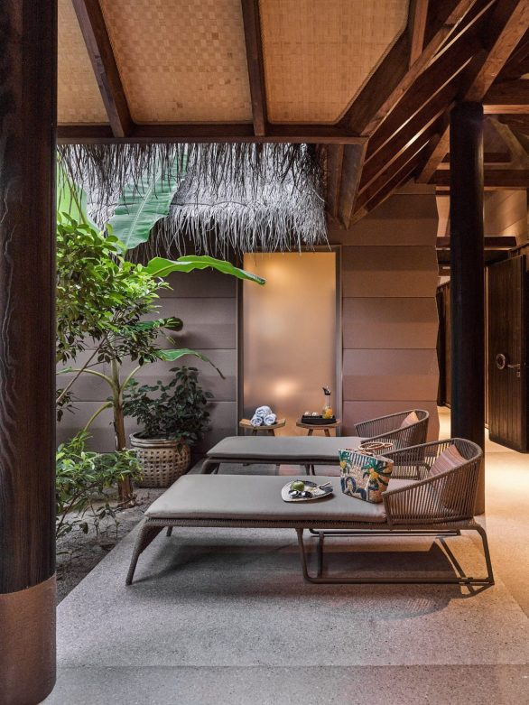Joali Maldives Luxury Resort - Muravandhoo Island, Maldives - Luxury Outdoor Lounge Chairs