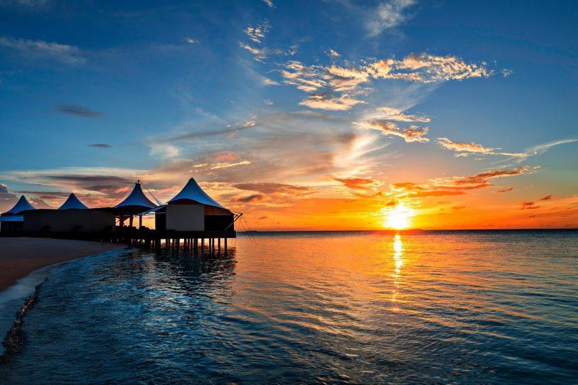 W Maldives Luxury Resort - Fesdu Island, Maldives - AWAY Spa Sunset