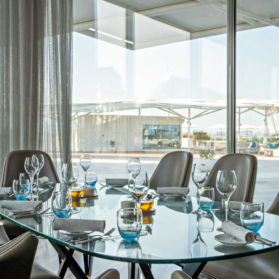 Burj Al Arab Luxury Hotel - Jumeirah St, Dubai, UAE - Scape Restaurant Lounge