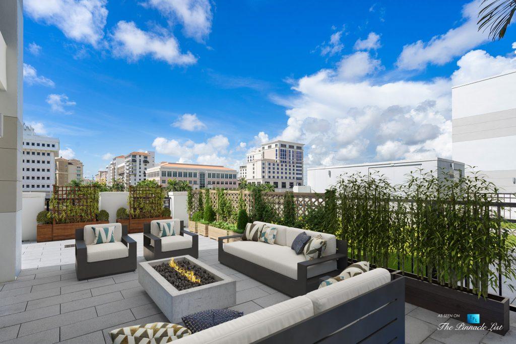 Boca Tower 155 Luxury Condo - Unit 416, 155 E Boca Raton Rd, Boca Raton, FL, USA - Private Terrace View