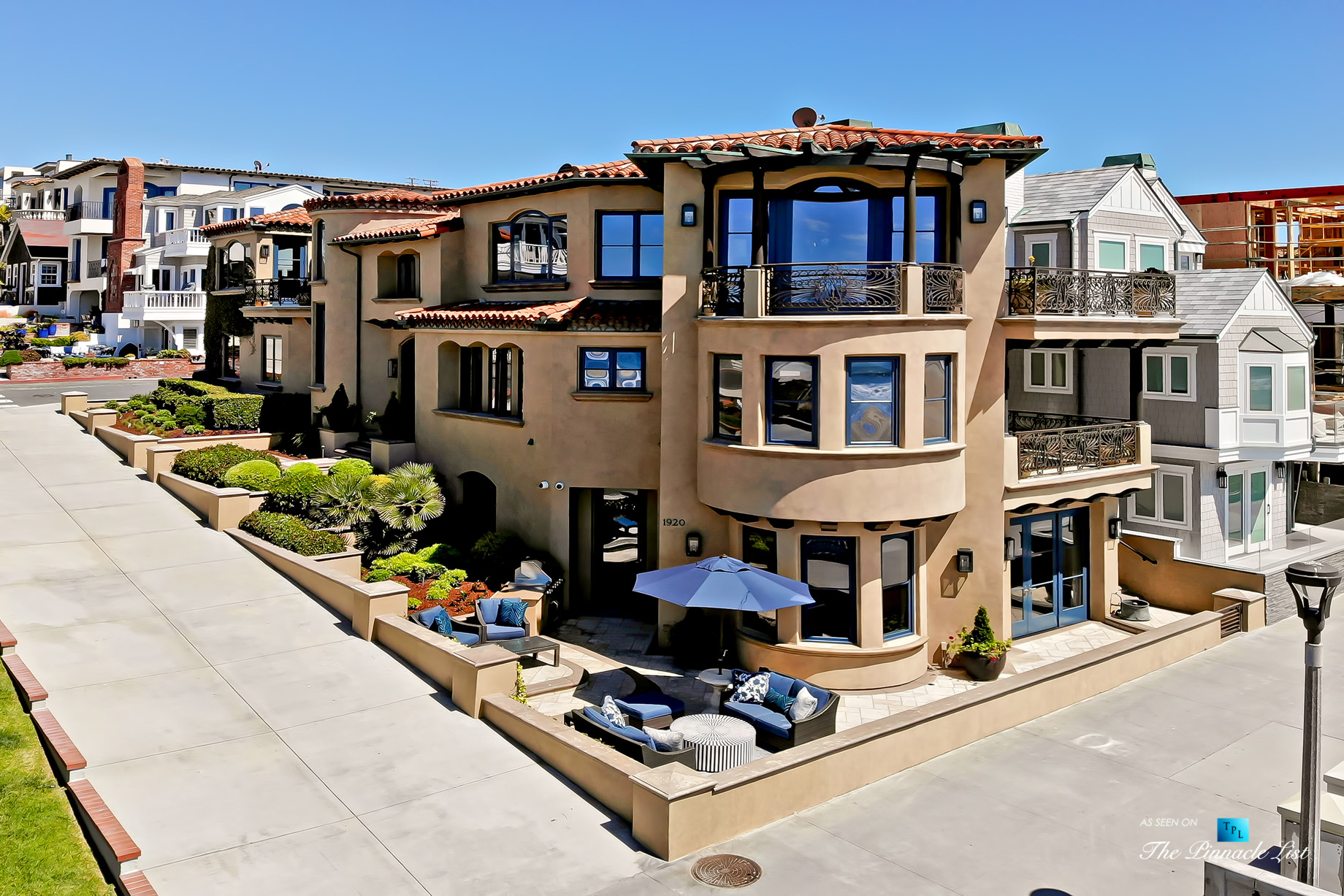 Ultimate California Luxury Living - 1920 The Strand, Manhattan Beach, CA, USA - Drone Aerial House View