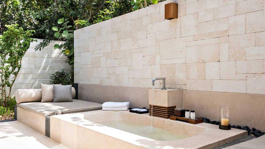 Amanyara Luxury Resort - Providenciales, Turks and Caicos Islands - 6 Bedroom Amanyara Villa Private Exterior Tub