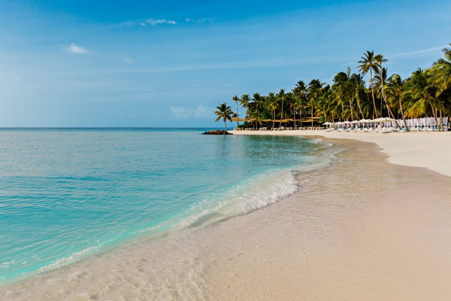 One&Only Reethi Rah Luxury Resort - North Male Atoll, Maldives - Beach Club Oceanfront Sand