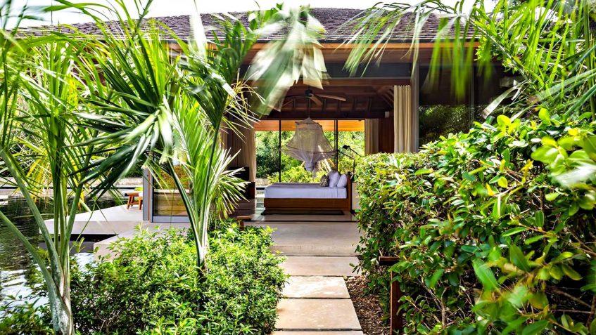 Amanyara Luxury Resort - Providenciales, Turks and Caicos Islands - 6 Bedroom Amanyara Villa Bedroom Exterior View