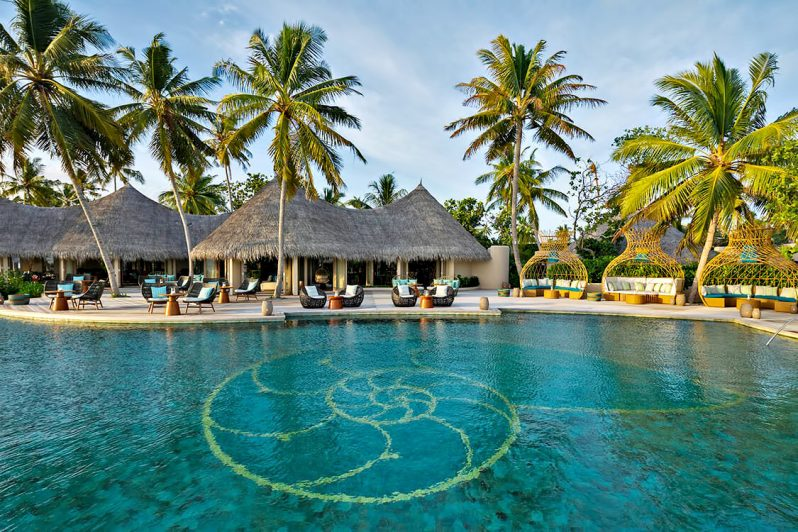The Nautilus Maldives Luxury Resort - Thiladhoo Island, Maldives - Resort Beachfront Pool