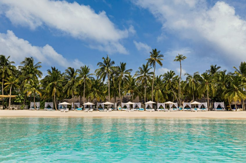 One&Only Reethi Rah Luxury Resort - North Male Atoll, Maldives - Beach Club Oceanfront