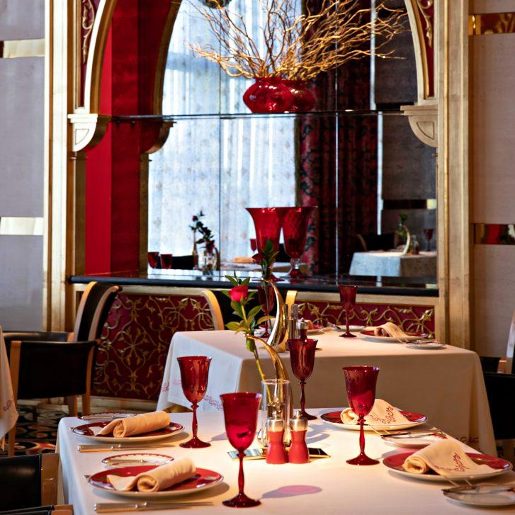 Burj Al Arab Luxury Hotel - Jumeirah St, Dubai, UAE - Al Iwan Dining Room