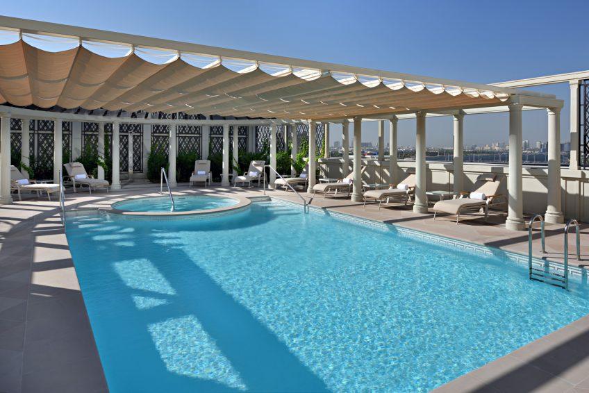 Palazzo Versace Dubai Hotel - Jaddaf Waterfront, Dubai, UAE - Imperial Suite Pool and Jacuzzi