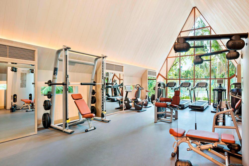 The St. Regis Maldives Vommuli Luxury Resort - Dhaalu Atoll, Maldives - Exercise Room