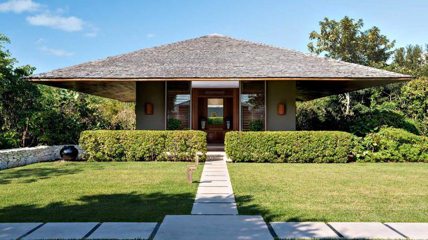 Amanyara Luxury Resort - Providenciales, Turks and Caicos Islands - 6 Bedroom Amanyara Villa Exterior Grounds
