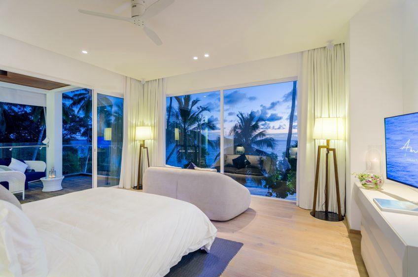 Amilla Fushi Luxury Resort and Residences - Baa Atoll, Maldives - Amilla Beachfront Estate Bedroom