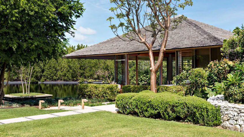 Amanyara Luxury Resort - Providenciales, Turks and Caicos Islands - 6 Bedroom Amanyara Villa Exterior Pond View