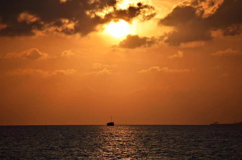 Six Senses Laamu Luxury Resort - Laamu Atoll, Maldives - Ocean Sunset View