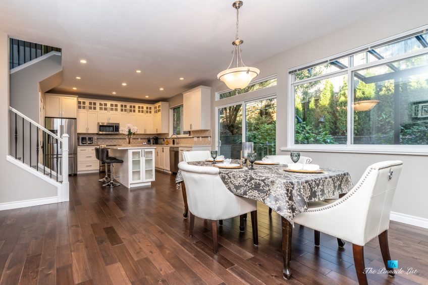 2366 Sunnyside Rd, Anmore, BC, Canada - Dining Room and Kitchen
