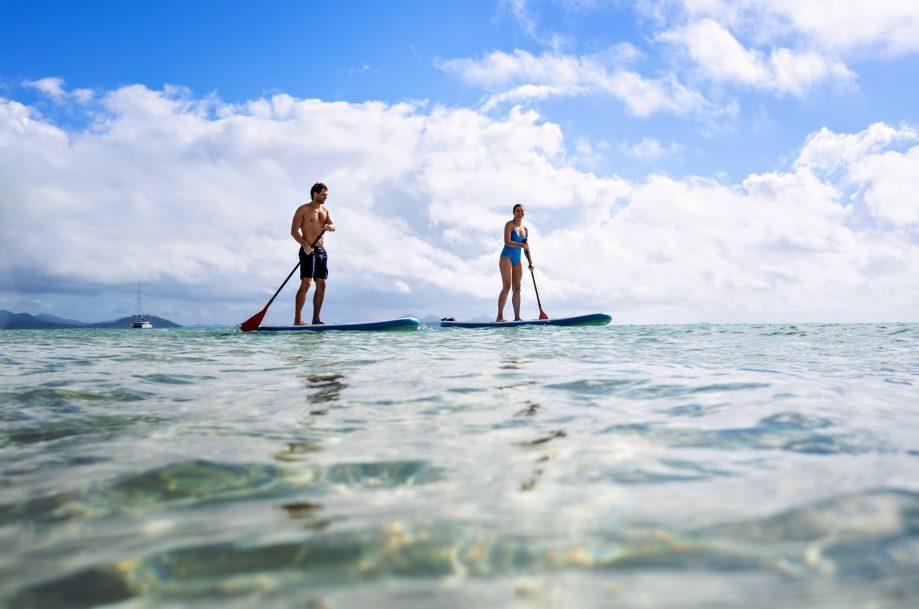 InterContinental Hayman Island Resort - Whitsunday Islands, Australia - Standup Pedalboard Tour