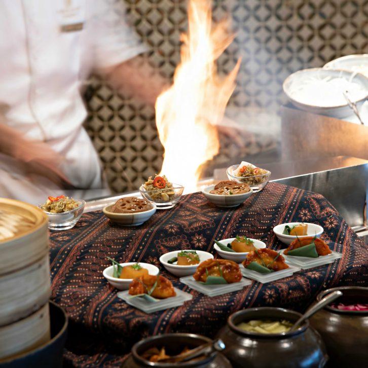 Burj Al Arab Luxury Hotel - Jumeirah St, Dubai, UAE - Junsui Buffet