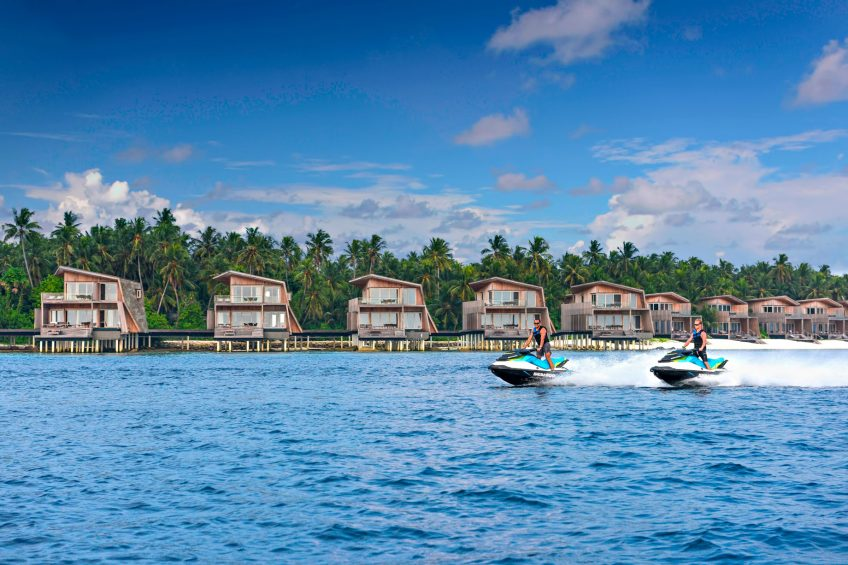 The St. Regis Maldives Vommuli Luxury Resort - Dhaalu Atoll, Maldives - Watersport Jet Ski