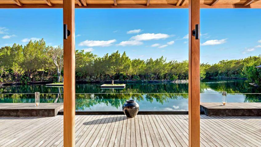Amanyara Luxury Resort - Providenciales, Turks and Caicos Islands - 3 Bedroom Tranquility Villa Infinity Pool View