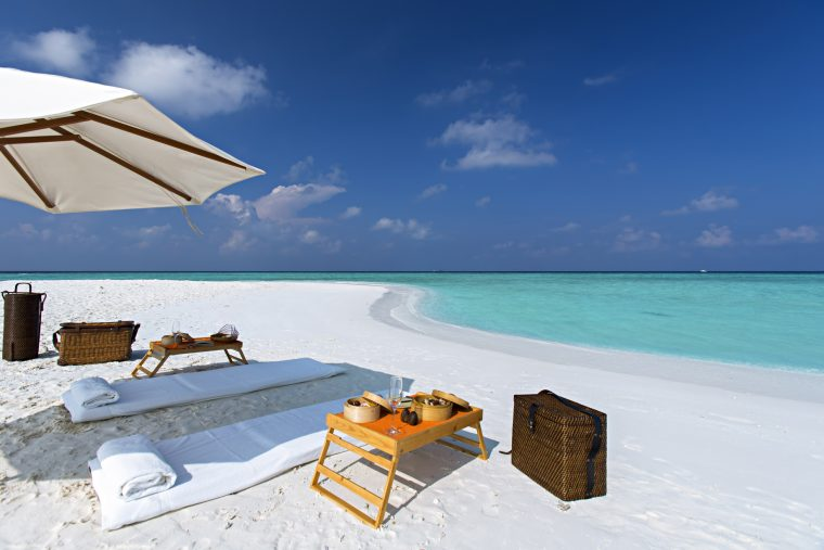 Gili Lankanfushi Luxury Resort - North Male Atoll, Maldives - Tropical Beach Oceanfront Dining