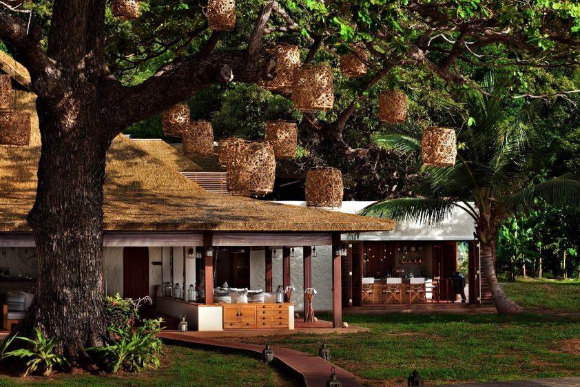 Six Senses Zil Pasyon Luxury Resort - Felicite Island, Seychelles - Island Cafe Exterior
