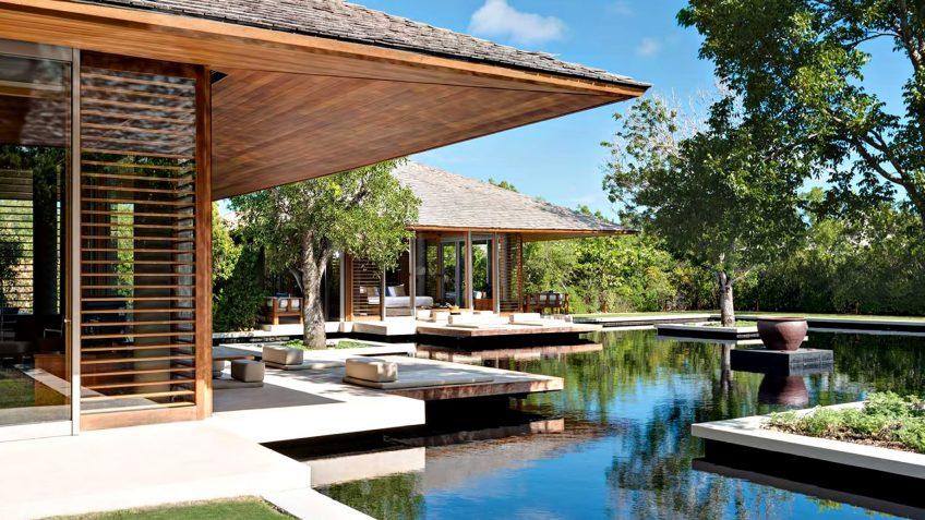 Amanyara Luxury Resort - Providenciales, Turks and Caicos Islands - 3 Bedroom Tranquility Villa Reflecting Pond