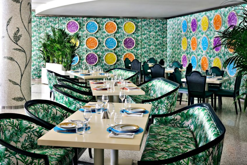 Palazzo Versace Dubai Hotel - Jaddaf Waterfront, Dubai, UAE - Giardino Dining