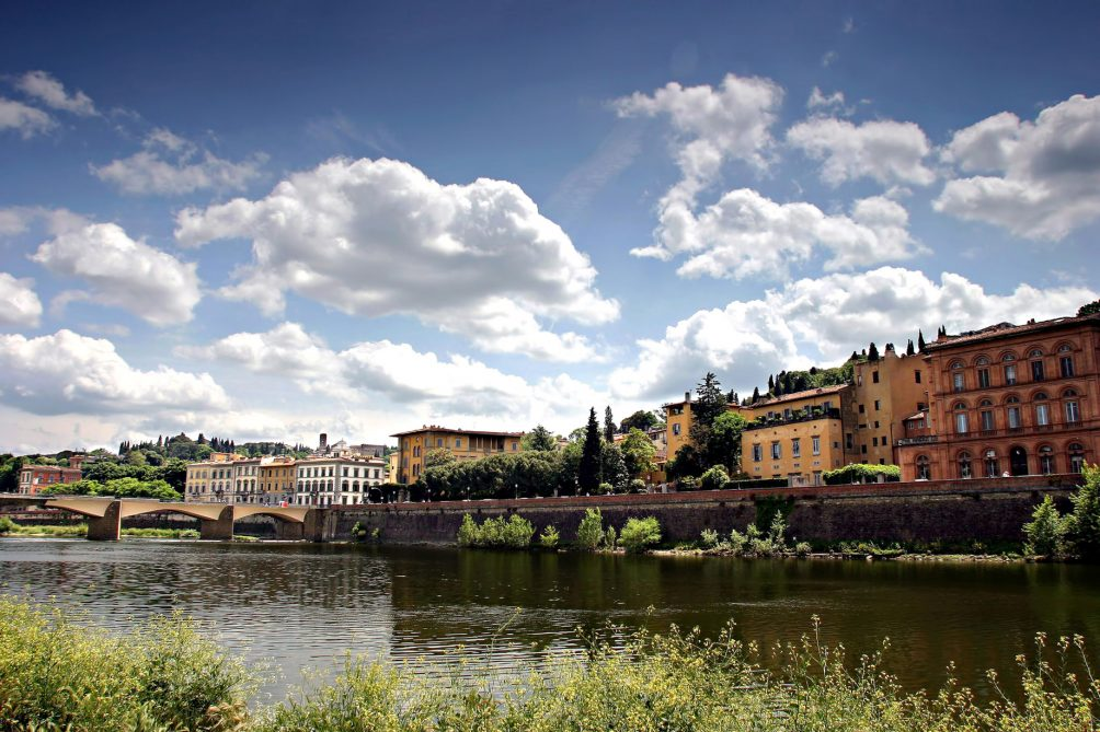 The St. Regis Florence Luxury Hotel - Florence, Italy - Arno River