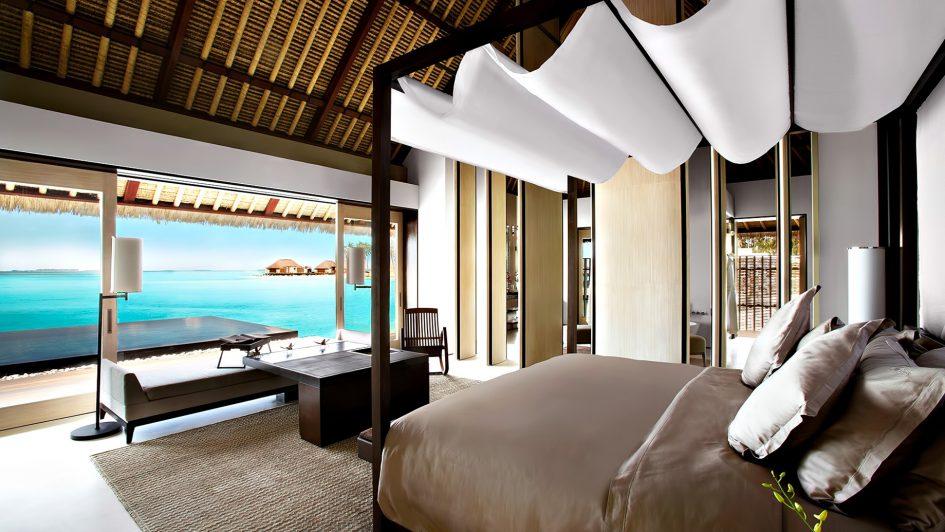 Cheval Blanc Randheli Luxury Resort - Noonu Atoll, Maldives - Overwater Villa Bedroom