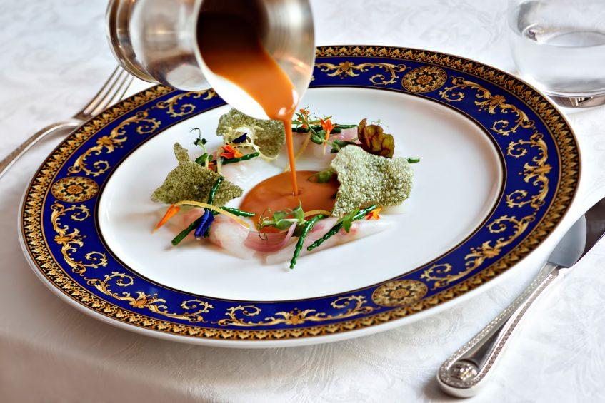 Palazzo Versace Dubai Hotel - Jaddaf Waterfront, Dubai, UAE - Vanitas Restaurant Raw Cuttlefish Ravioli