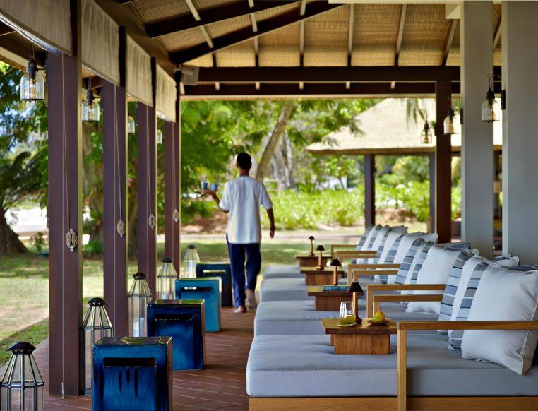 Six Senses Zil Pasyon Luxury Resort - Felicite Island, Seychelles - Island Cafe
